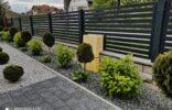 ogrodzenie palisadowe na murku (1)